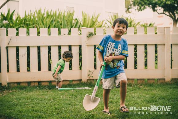 1-12-14 Kids Backyard-Vintage Look